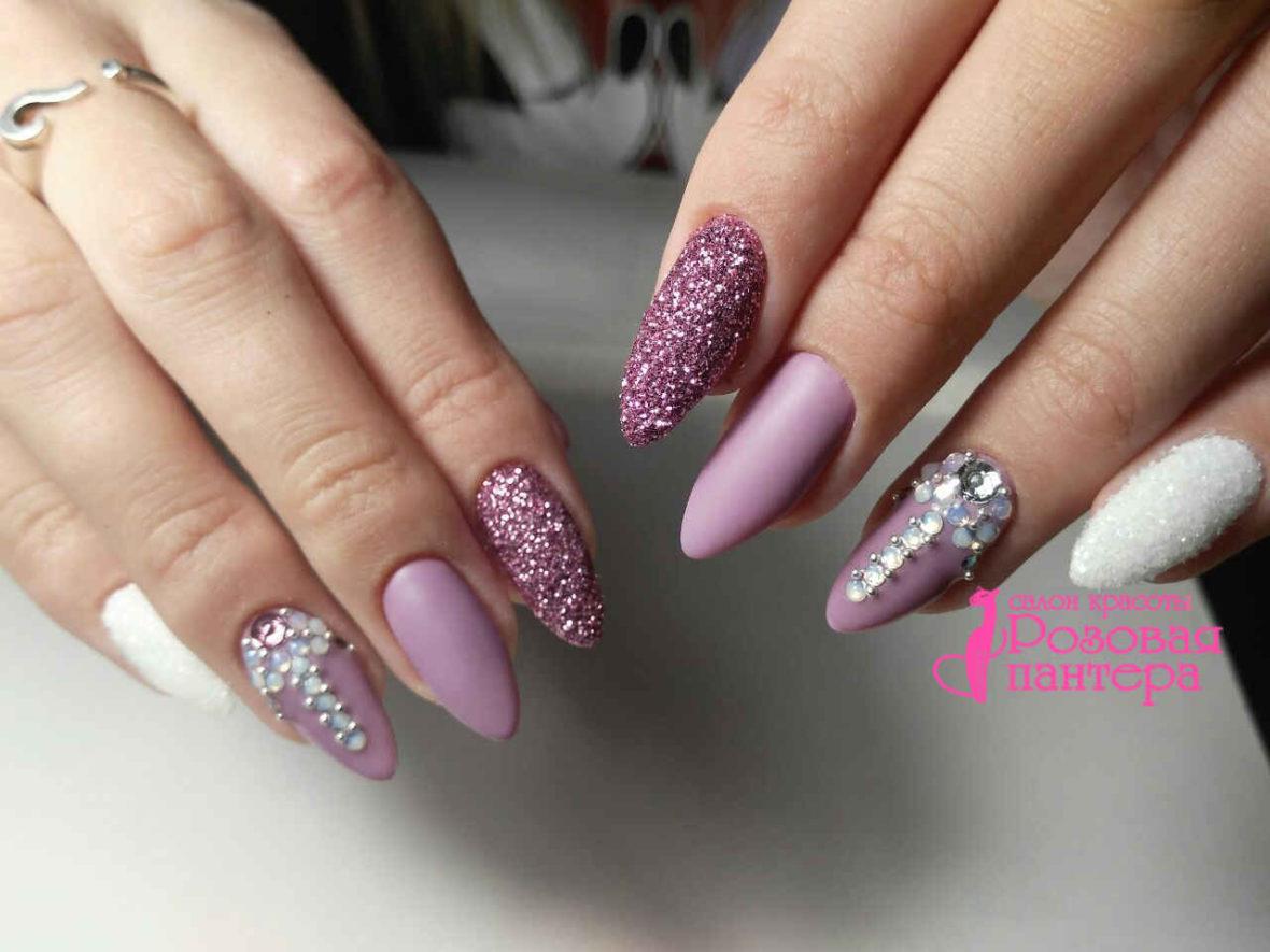 Наращиванте ногтей профессионально Минск студия Розовая пантера