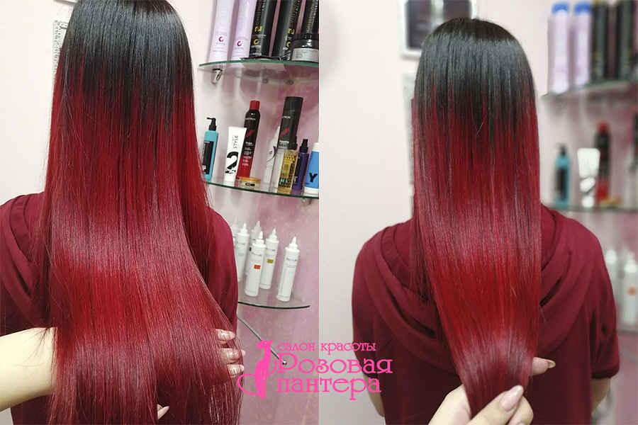 Полировка волос студия Розовая пантера Минск
