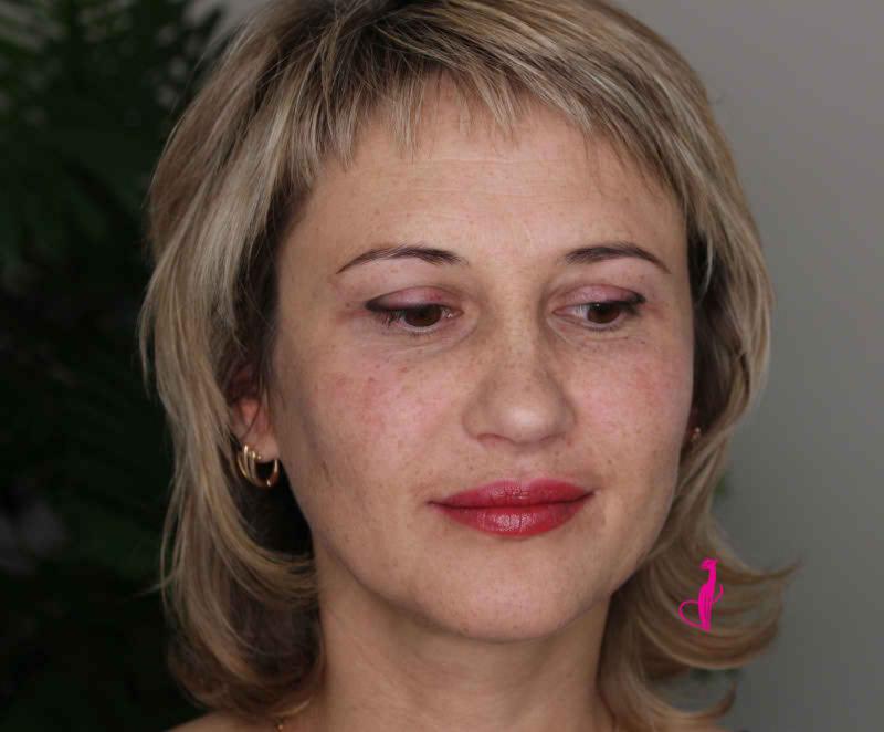 Бесконтурный татуаж губ Розовая пантера Минск