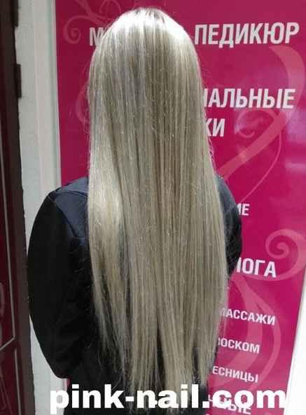 Бережное окрашиание волос студия Розовая пантера Минск