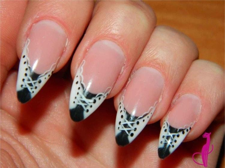 фантазийный дизайн ногтей