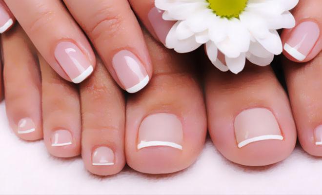 Красивые и ухоженные ногти на руках и ногах