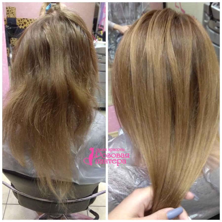 Окрашивание волос Минск студия Розовая пантера