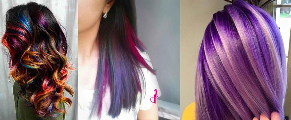 Примеры окрашивания волос Crazy color