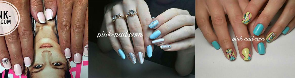 Примеры работ: долговременное покрытие на ногтях