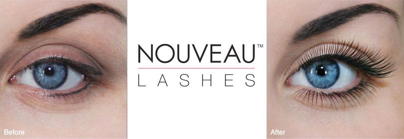 LVL от Nouveau Lashes - препарат для коллагенирования ресниц: до процедуры и после