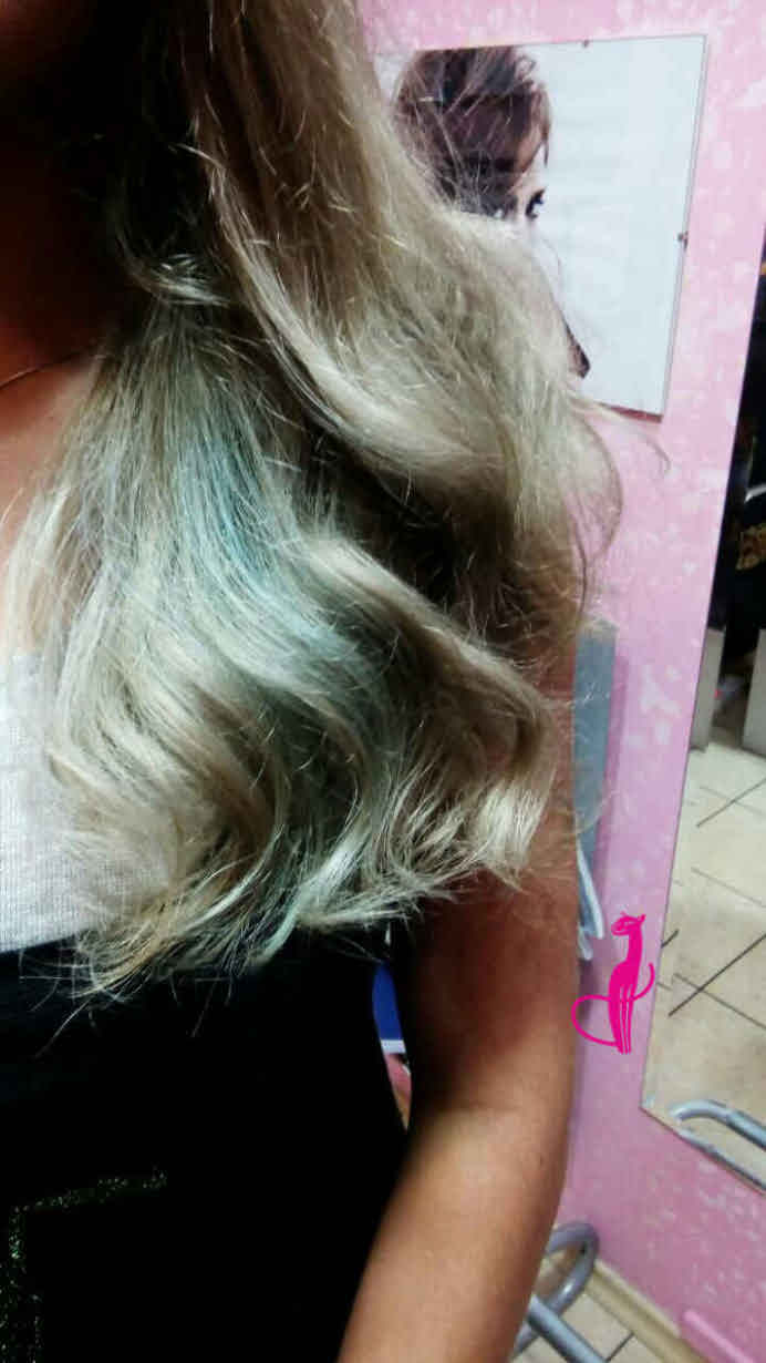 Окраска волос балаяж