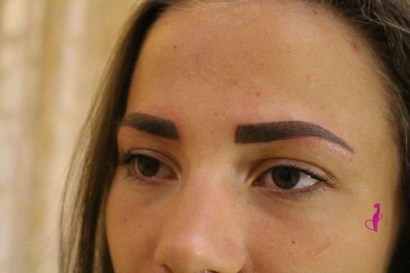 Перманентный макияж волоски Минск