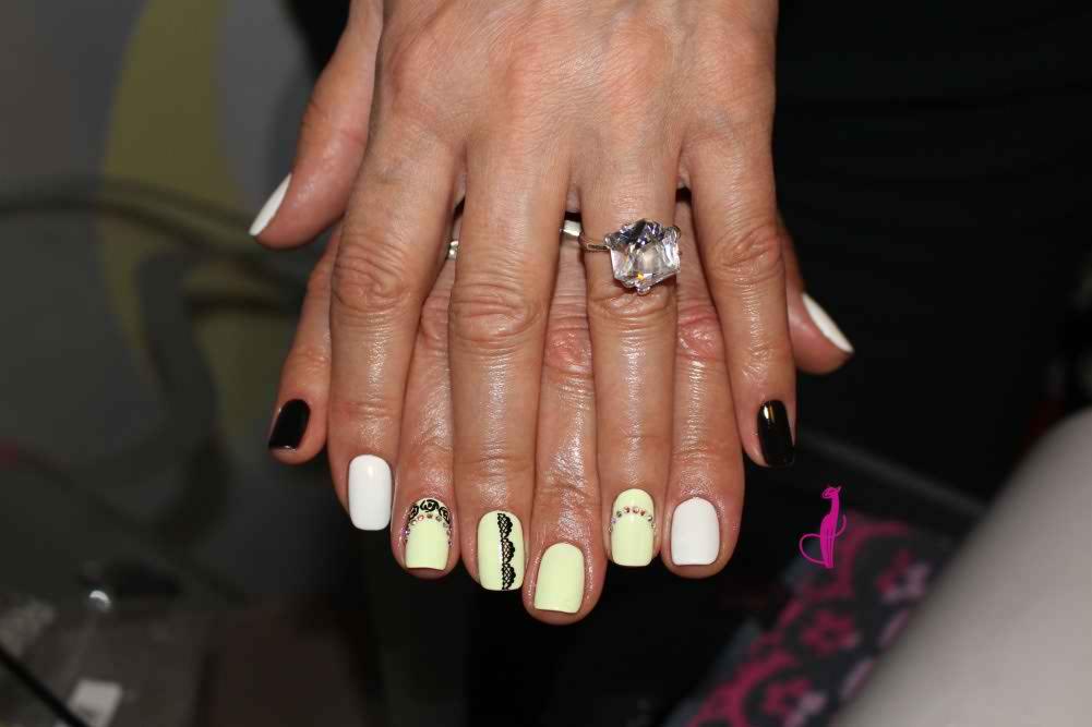 Дизайн ногтей Розовая пантера Минск