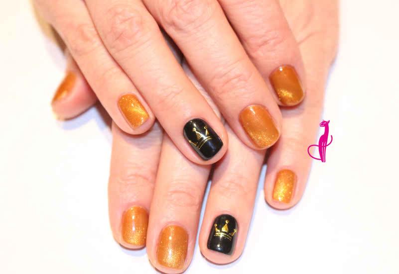 долговременное покрытие дизайн ногтей салон Розовая пантера Минск