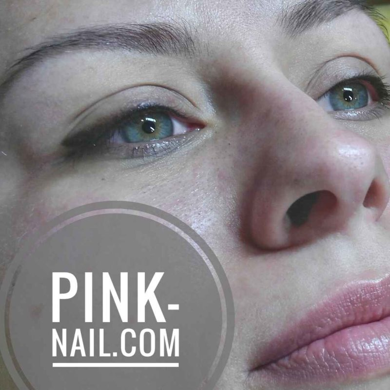 Веки растушевка студия Розовая пантера